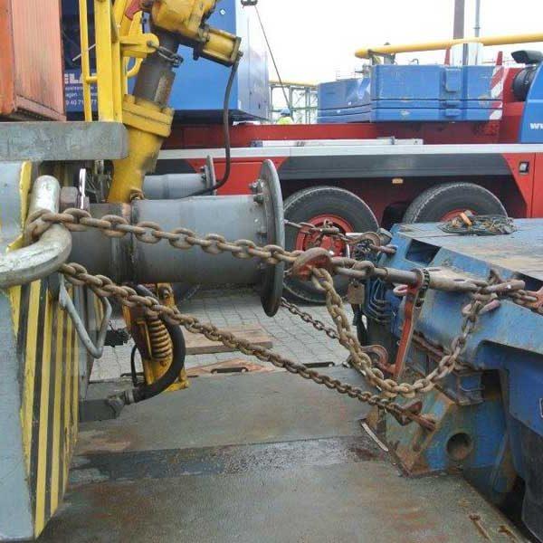 Schwertransport Diesellok